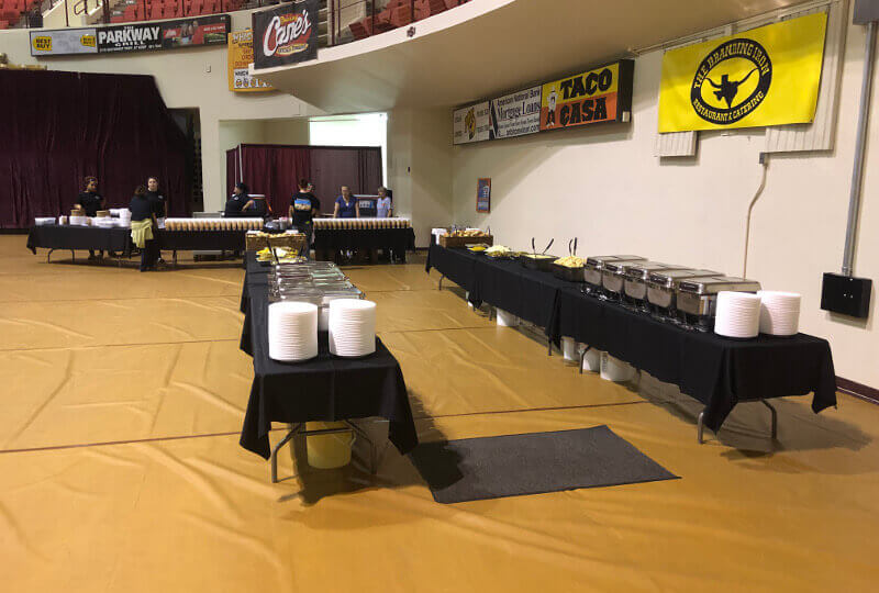 The Branding Iron BBQ Caters the MSU Banquet